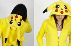 Fuzzy Pikachu Sweaters - The Custom Erosdiy Pokemon Hoodie by Eros DIY Design is Perfect for Gamers