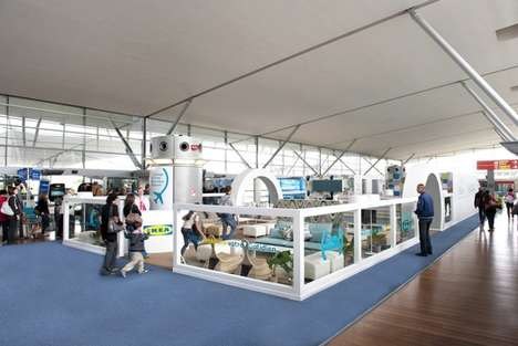 House-Like Airport Terminals - IKEA VIP Lounge in France Helps Travelers Alleviate Stress