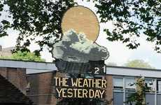 Past Climate Installations - The Troika 'The Weather Yesterday' Reminds You of the Recent Past