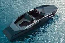 Original Origami Motorboats