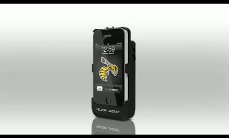 Yellow Jacket iPhone stun gun