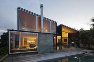 The Birkenhead Point House by Crosson Clarke Carnachan is Geometric