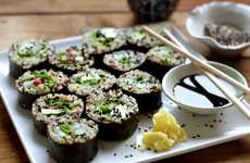 Revamped Japanese Dishes - Quinoa Sushi Rolls are a Healthy Option Packed With Nutrients