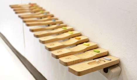 Wooden Marble-Based Melodies - Tinka Tune Allows Children to Compose Their Own Music