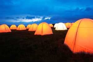 The London 2012 Festival Peace Camps Illuminate the Countryside