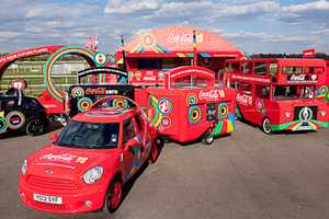 The Coca-Cola 'Beat Fleet' Cars Aim to Entertain at the 2012