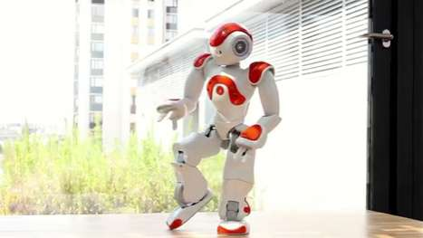 NAO Robot Evolution Of Dance