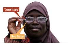 Focus-Changing Glasses - Eyejusters Adjustable Readers Help Vision Needs of Developing World