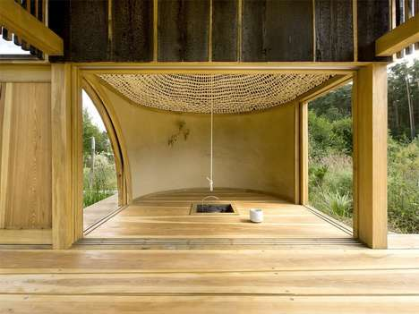 A1Architects Black Teahouse