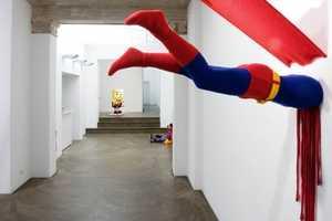 The Exhibit 'Broken Heroes' by Patricia Waller is Somber