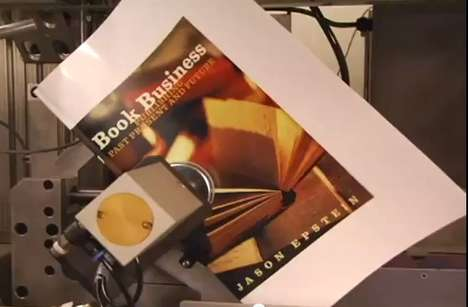 On-Demand Literary Printing - Harvard Book Store Espresso Book Machine Prints in Four Minutes