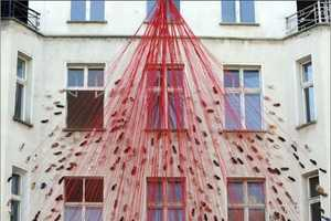 The Chiharu Shiota 'Breath Of The Spirit' Has Sole