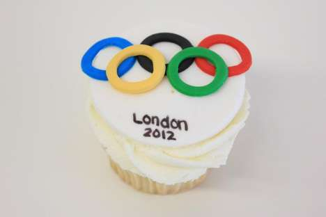 Seasonal Sporty Desserts - The Le Dolci 2012 Olympics Cupcakes are Inspiring