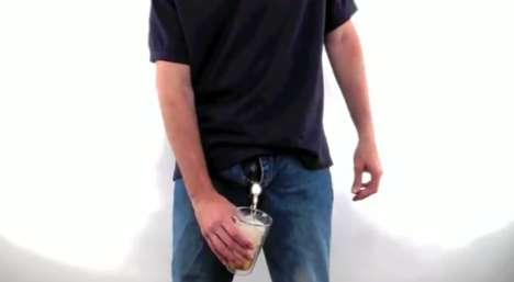 Booze Bag Underwear - The Freedom Flask Allows Users to Drink Alcohol Where Ever They Choose