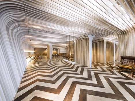 optical Illusion interiors