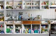 Cluttered Kitchen Captures - The Erik Klein Wolterink 'Kitchens of Amsterdam' Series Is Fresh
