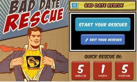 Romance Savior Apps - The eHarmony Bad Date Rescue App is Ingenious