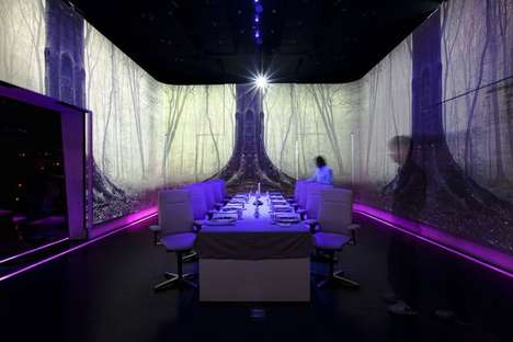 ultraviolet restaurant by Paul Pairet