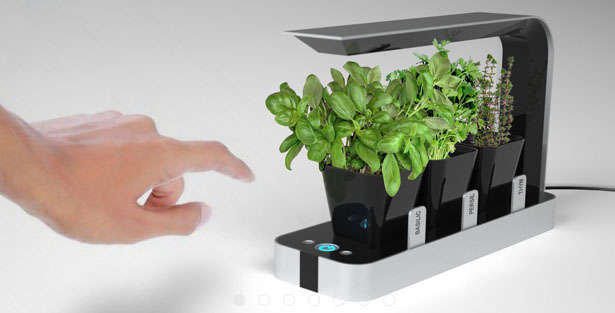 Hi-Tech Countertop Planters
