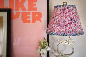 This DIY Floral Lampshade Will Bring Some Cheer to Your Room