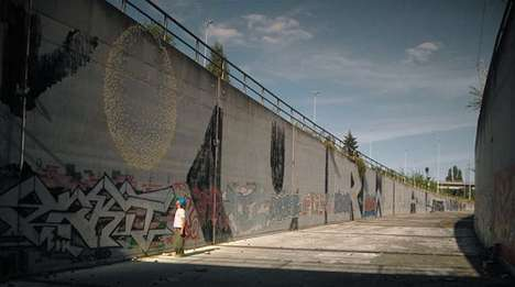 Large-Scale Paintball Murals