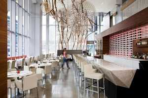 The Aria Ristorante Features Eye-Catching Fixtures