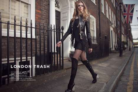 London Trash by Joel Cartier
