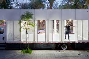 The Productora A47 Mobile Library Comes to You