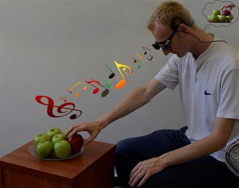 Melodic Interpretation Glasses - EyeMusic Translates Visual Stimuli Into Sounds for the Blind