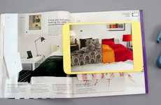 Interactive Shopping Tomes - The 2013 IKEA Catalog App Offers a Unique Buying Experience