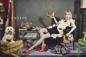 The Lanvin Fall 2012 Ads Feature Realistic Models