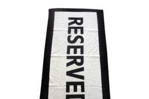 The Reserved Towel Will Keep Beach Spots Secure