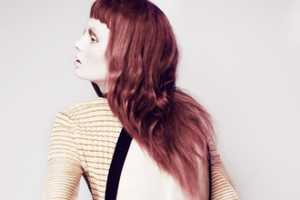 Shamila for Nylon Mexico Features Steffi with Bright Red Hair