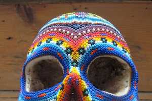 The Huichol Beaded Skulls are Spooky Yet Sophisticated