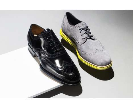 Upscale Oxford Sneakers
