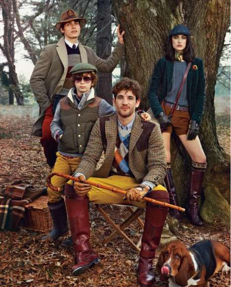 Tommy Hilfiger Fall/​Winter 2012 Campaign