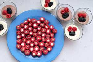 The Brit & Co. Raspberry Pudding Bites are Made for the Mature Palate