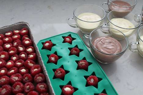 Brit & Co. Raspberry Pudding Bites
