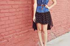 DIY Polka Dot Skirts