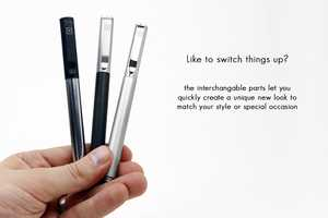 The 'Solid Titanium' Pen & Stylus Provides Several Tips