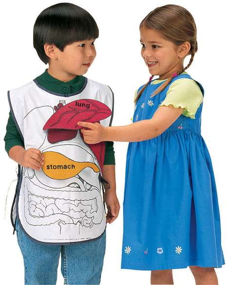 Half-Pint Scientists - The Anatomy Apron Promotes Early Learing and Little Doctors