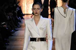 The Yves Saint Laurent Fall 2012 Collection is Commanding