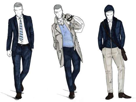 Salvatore Ferragamo for San Marino Olympic Contestant Outfits