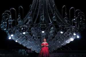 The Opera Australia Chandelier by Brian Thompson is Spectacular