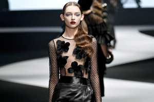 The Viktor & Rolf Fall 2012 Line Showcases See-Through Pieces