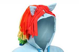 The Rainbow Dash Hoodie is Perfect for 'My Little Pony' Fanatics