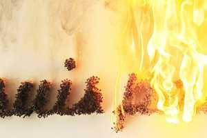 The Ali Cherri 'Le Pyromane' Makes A Fiery Statement