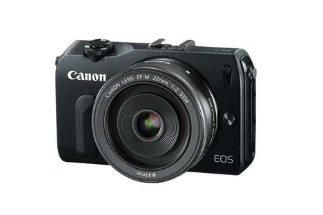 Mirrorless Micro Cameras - The Canon EOS M Features a Slick and Durable Body
