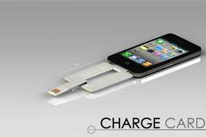 The ChargeCard Is Ideal For Those Who Prefer To Travel Light