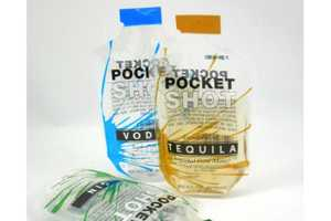 The Tequila Pocket Shot by Pocket Shot Encourages On-the-Go Drinking